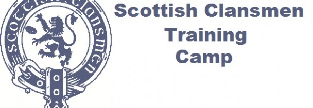 Scottish Clansmen Training Camp